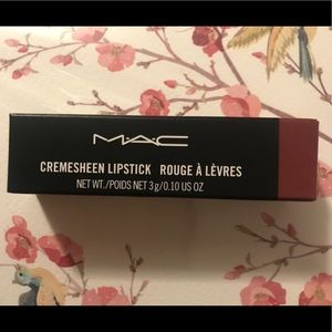 MAC cremesheen lipstick 205 Créme In Your Coffee